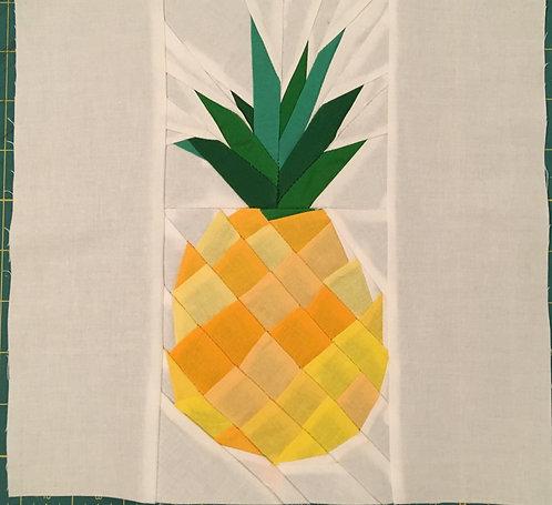 Geometric Pineapple Foundation Paper Piecing Pattern