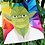 Thumbnail: Yoda Star Wars Foundation Paper Piecing Pattern