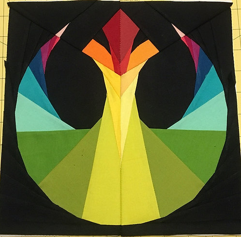 Rebel Symbol Star Wars Foundation Paper Piecing Pattern