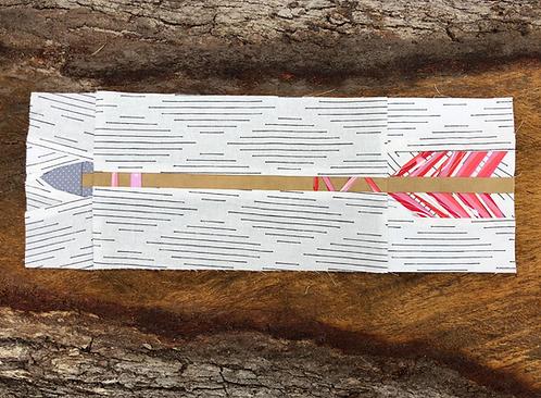 Arrow 2 Foundation Paper Piecing Pattern