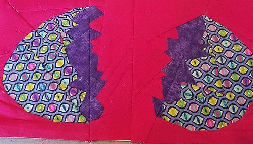 Egg 2 Foundation Paper Piecing Pattern
