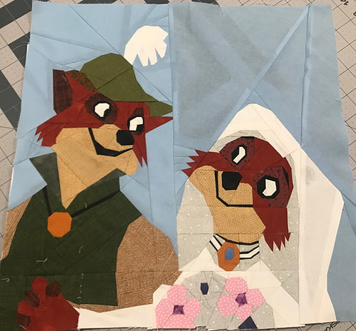 Robin Hood & Mary Maiden Foundation Paper Piecing Pattern