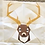 Thumbnail: Deer Head Foundation Paper Piecing Pattern