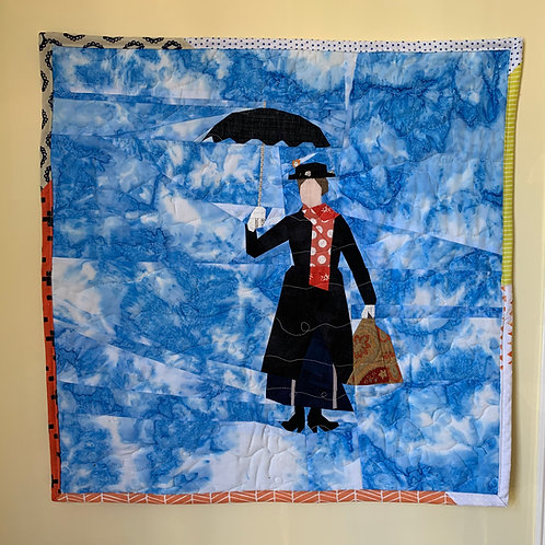 Mary Poppins Foundation Paper Piecing Pattern