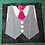 Thumbnail: Vest and Tie Foundation Paper Piecing Pattern