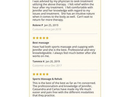 Thankful for Reviews