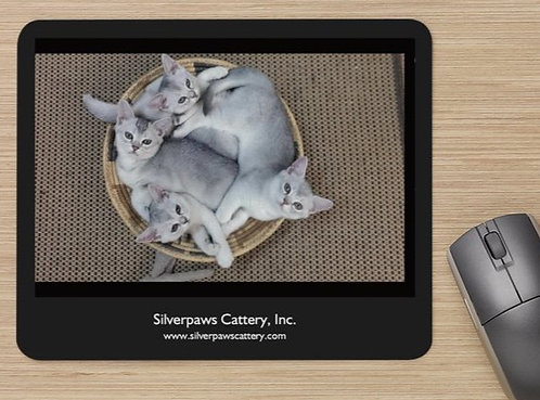 Silverpaws Cattery Mousepad
