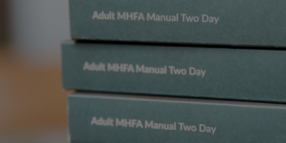 Mental Health First Aid - Manchester (April)