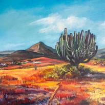 Vista de Teotitlán del Valle