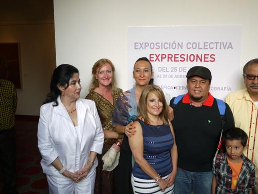 EXPOSICIÓN EXPRESIONES – Coletiva de Pintura, Gráfica, Cerámica y Fotografía