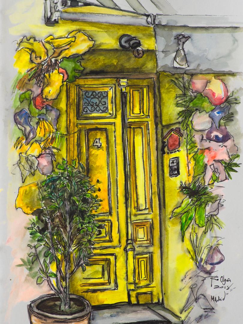 La puerta amarilla, Madrid
