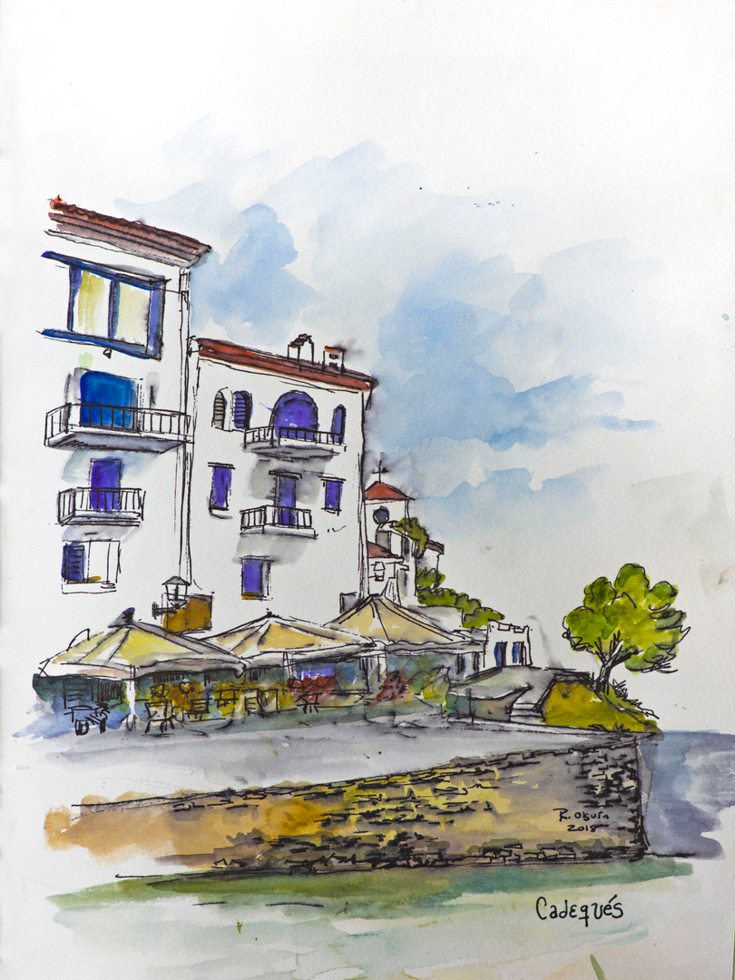 Muelle en Cadeques, Costa Brava
