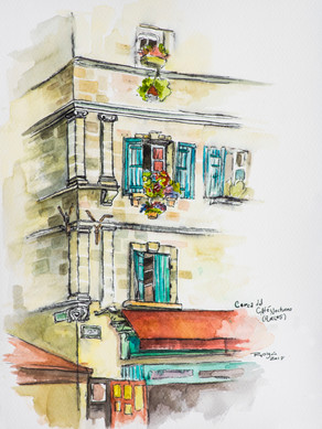 Café en Arles, Francia