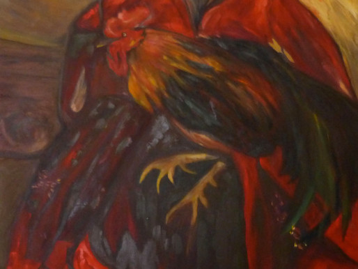 Reproducción de pintura de Saturnino Herrán