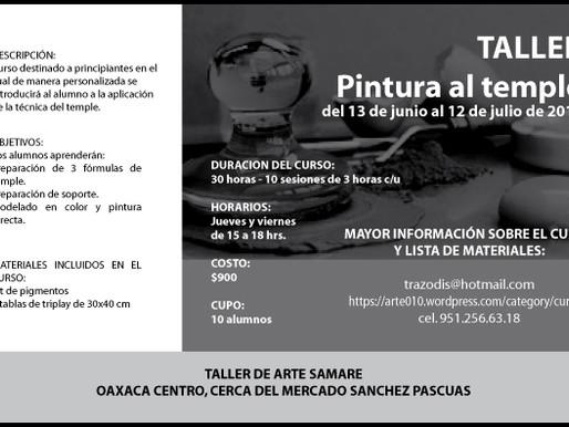 TALLER DE PINTURA AL TEMPLE