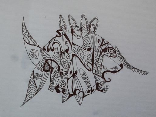 El dibujo contribuye a la concentración y a tranquilizar la mente