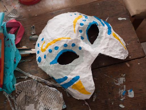 Taller de máscaras 2016
