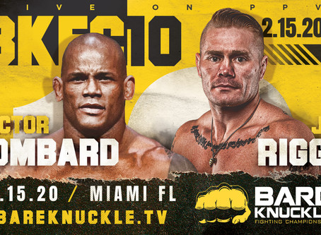 Hector Lombard makes bare knuckle debut at BKFC 10 in Miami