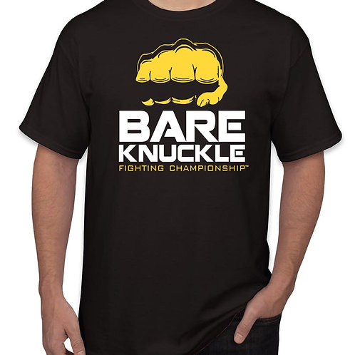 Bare Knuckle FC Logo Shirt -Black