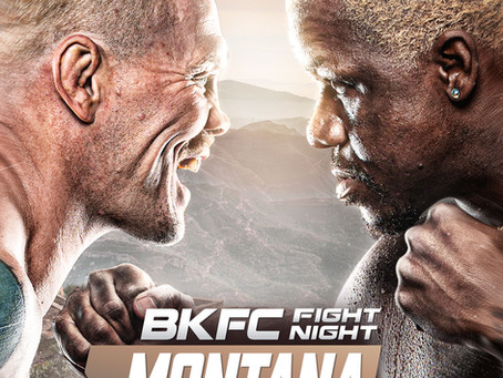 BKFC Fight Night Montana announced for Saturday, October 9 in Billings, Montana
