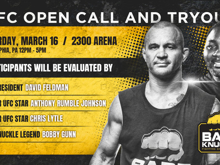 We're looking for the next BKFC star