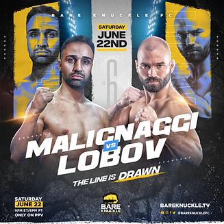 BKFC 6 - poster Malignaggi v Lobov.png