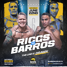 BKFC 6 - poster RIGGS v BARROS.png