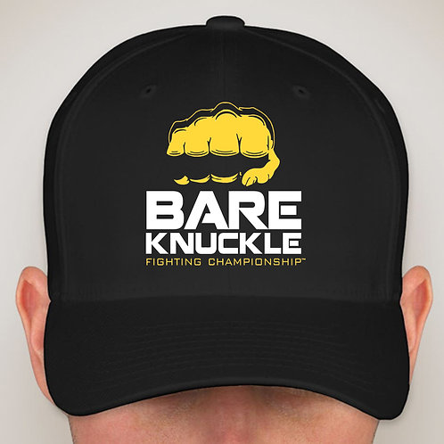 Bare Knuckle FC Logo Twill Fitted Hat