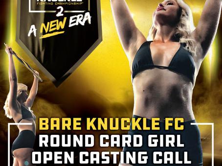 BKFC Announces Round Card Girl Casting Call
