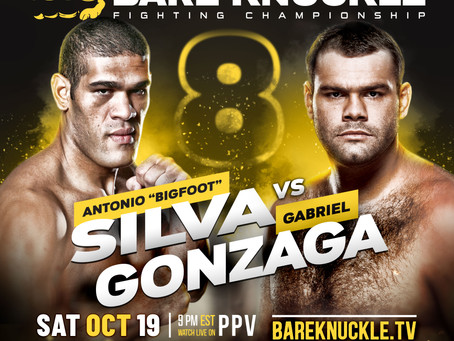 BKFC 8 Bigfoot vs Gonzaga (Rebroadcast) Official PPV Stream