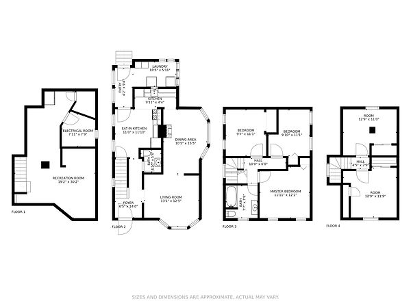 All In One Floor Plan