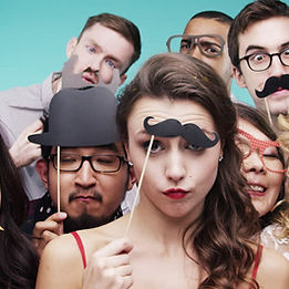corporate party photo booth rental