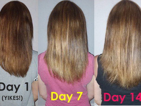 How to Grow Hair Longer, Thicker & Faster: Super Easy & Cheap!  Works Fast to Grow Hair Naturally