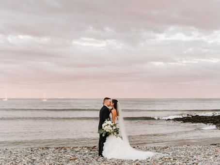 This Nahant Wedding Venue Has an Unbelievable View of the Ocean & We're In Love!