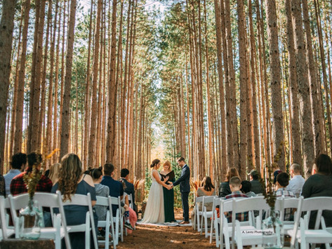This Lakefront Estate in Mauston, Wisconsin is an Absolutely Magical Place for a Wedding!