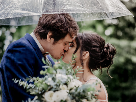 Your Wedding Day is Calling for RAIN... Here's Why It's Going to Be Amazing