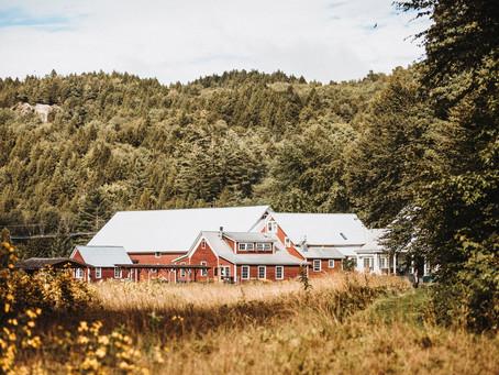 This Vermont Barn Venue Provides Breathtaking Weddings & Farm-to-Table Catering!  (Lareau Farm)