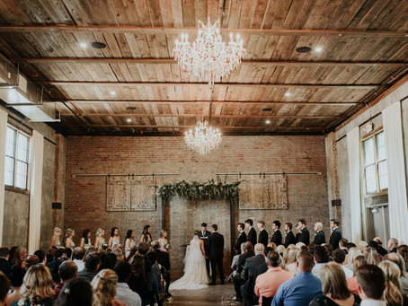 This Elegant, Industrial Wedding Venue in Edmond, OK is The Unique Venue You've Been Looking For!