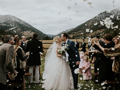 Experience A Gorgeous Wedding Under the Big Sky of Montana - 320 Guest Ranch