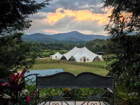 This Working Farm Wedding Venue in Swannanoa Grows Food, Flowers & Love!