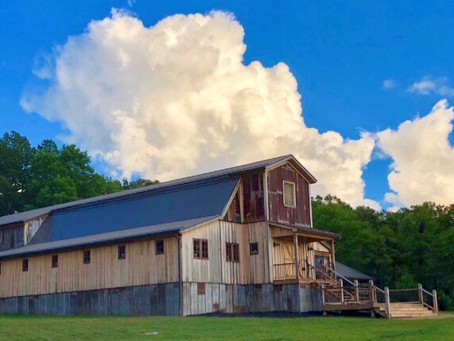 This West Virginia Couple Couldn't Find the Perfect Wedding Venue, So They Built One!