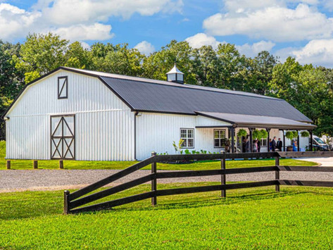 This 100-Acre Private Estate Venue in Selbyville is Timeless, Elegant & a True Hidden Gem!