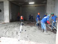 Concretagem piso 4º Subsolo