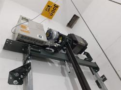 Motor do elevador em detalhe