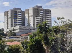 Vista da obra da estação Piqueri