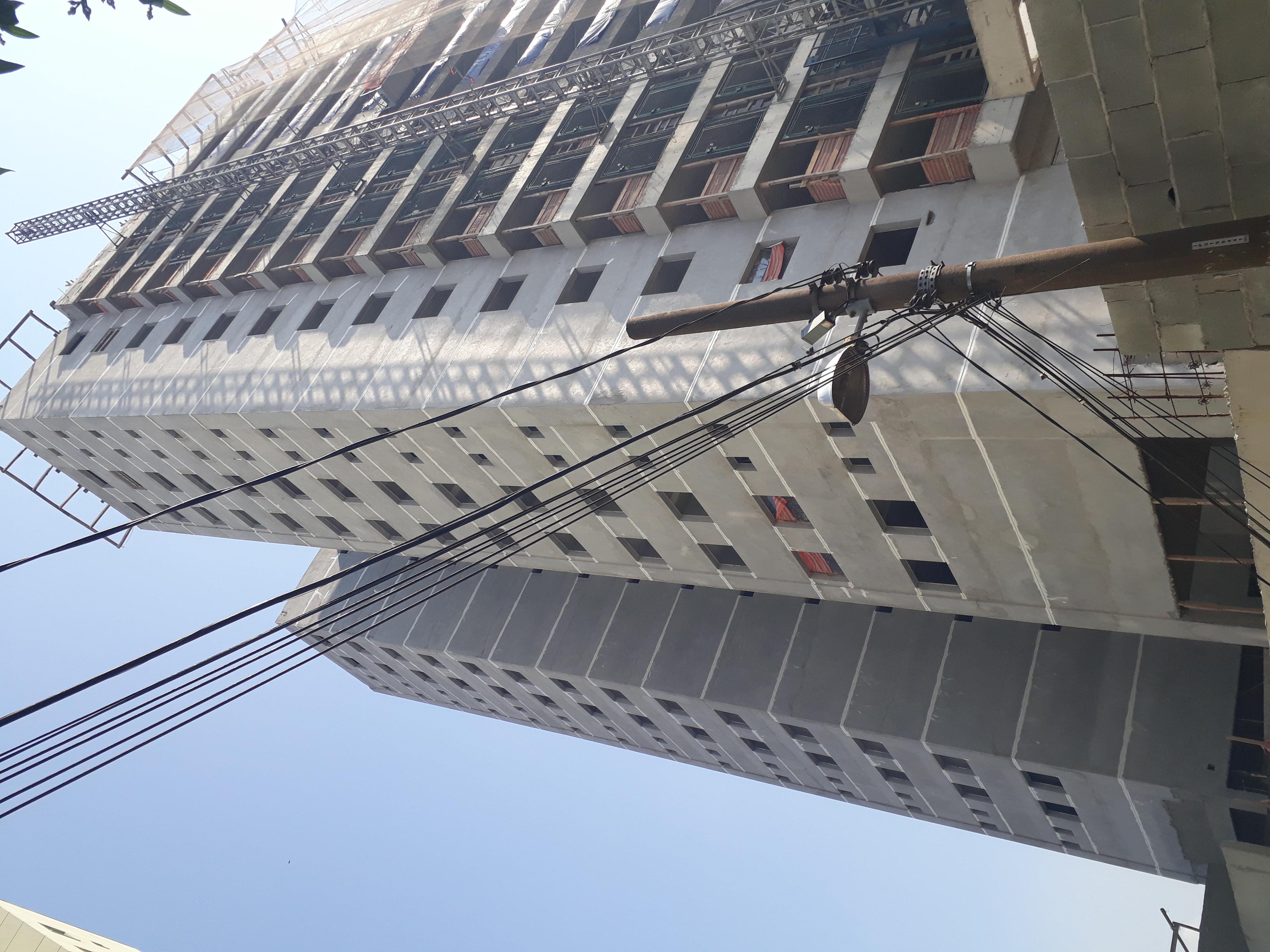 Execução de veda friso fachada
