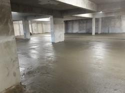 Concreto piso 2º subsolo