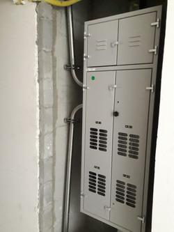 Instalação dos medidodres de energia - 2