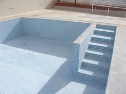 Escada da piscina adulto