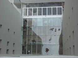 Instalação vidros do pergolado later